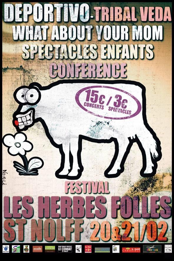 Affiche Les Herbes Folles 2015